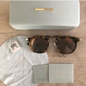 Karen Walker Bounty Sunglasses in Tortoise